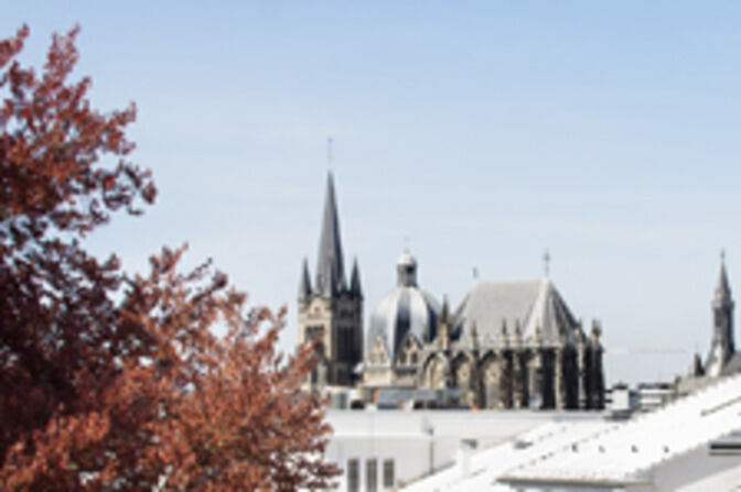 Aachen Cathedral from afar